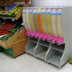 Bakliyat Çeşmesi Market Pratikol bean dispenser petshop store display and coffee
